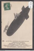 1899 AV338 AK PC CPA LE NOUVEAU DIRIGEABLE MILITAIRE FRANCE COMMANDANT COUTELLE C TTB - Dirigibili