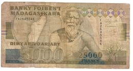 Madagascar 25000 Francs 1993 - Madagascar