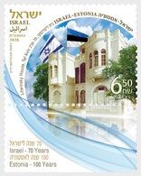 Israel - Postfris / MNH - Joint-Issue Israel-Estland 2018 - Israël