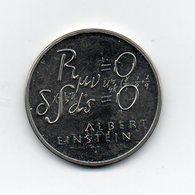 Svizzera - 1979 - 5 Franchi Commemorativi - ALBERT EINSTEIN - FORMULA - (MW1795) - Svizzera
