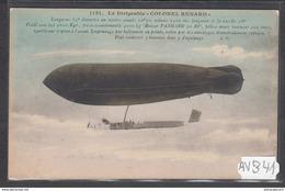 1902 AV341 AK PC CPA LE DIRIGEABLE COLONEL RENARD NC TTB - Dirigibili
