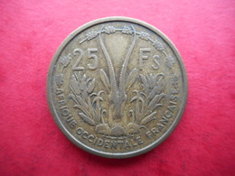 French West Africa 25 Francs 1956 - Monnaies
