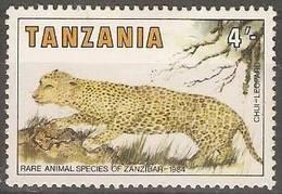 Tanzania - 1985 Leopard MH *  SG 421 - Tanzanie (1964-...)