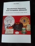 MANUFACTURES FRANCAISES SOUS OCCUPATION ALLEMANDE.WW2.HENRIOT QUIMPER.LIMOGES - 1939-45
