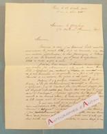 L.A.S 1902 Alfred METTON - E GODEFROY - Pierre D'ESPAGNAT - Côte D'Ivoire - Société Minière - Lettre Autographe - Autographes