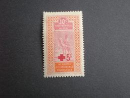 TIMBRE COLONIE FRANCAISEHAUT SENEGAL ET NIGER  N°35 CHARNIERE - Haut-Sénégal Et Niger (1904-1921)