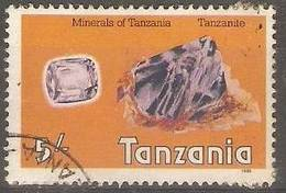 Tanzania - 1986 Tanzanite Used  SG 471 - Tanzania (1964-...)