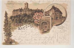 Grus Von Der WARTBURG 1898 - Allemagne