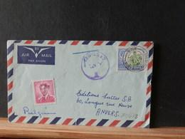 81/642   LETTRE POUR LA BELG.  TAXEE - Rhodesia & Nyasaland (1954-1963)