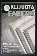 LITHUANIAN BOOK / KLIJUOTA FANERA 1936 - Books, Magazines, Comics
