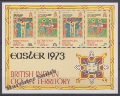 British Indian Ocean 1973 Yvert BF 1, Easter - MNH - British Indian Ocean Territory (BIOT)