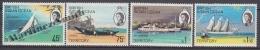 British Indian Ocean 1969 Yvert 32- 35, Elizabeth II, Boats - MNH - British Indian Ocean Territory (BIOT)