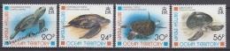British Indian Ocean 1996 Yvert 181- 184, Fauna, Sea Turtles - MNH - Territoire Britannique De L'Océan Indien