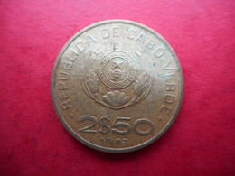 Cape Verde 2½ Escudos 1982 - Cape Verde