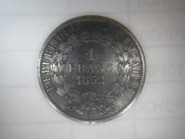 1 Franc Louis Napoléon (1852A) - France