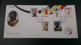 UGANDA 2007 FDC - CULTURE - COSTUMES COSTUME - Uganda (1962-...)
