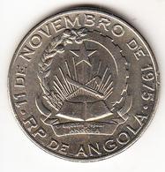 ANGOLA  1975 20 KWANZAS  CONMEMORACION DEL 11 DE NOVIEMBRE.  EBC .VER FOTO . CN 4337 - Angola