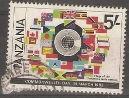 Tanzania - 1982 Commonwealth Day 5/- CTO  SG 577 - Tanzania (1964-...)