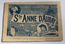 Ancien Livre Album De Saint Anne D'Auray France Album Bourgeois Lahure Carnac Belle Ile Auray Brech Larmor - Livres, BD, Revues