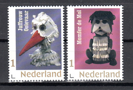 Nederland 2018 Nvph Nr ??. Mi Nr ?? :'Fabeltjeskrant Met Juffrouw Ooievaar + Momfer De Mol, Stork + Mole - Neufs
