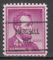 USA Precancel Vorausentwertung Preo, Locals Wisconsin, Marshall 713 - Vereinigte Staaten