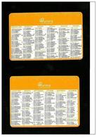Calendarietto Pubblicitario 2008 - Aurora Assicurazioni - Formato Piccolo : 2001-...