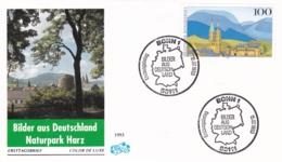 Germany FDC 1993 Bilder Aus Deutschland - Naturpark Harz   (G96-9) - FDC: Brieven