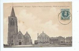 Ploegsteert Eglise Et Maison Communale ( Etat Voir Dos ) - Komen-Waasten