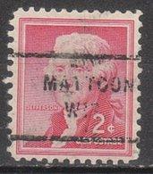 USA Precancel Vorausentwertung Preo, Locals Wisconsin, Matton 712 - Vereinigte Staaten