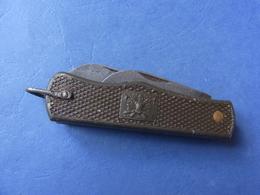 COUTEAU DE POCHE MILITAIRE / UTILITAIRE SOLDAT / ORIGINAL - Knives/Swords