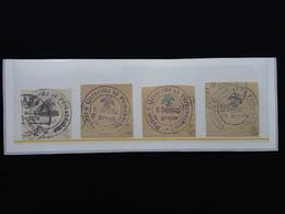 ALBANIA 1913 - Nn. 20/23 Timbrati + Spese Postali - Albania