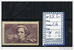 FRANCE LUXE ** N° 382 - Unused Stamps