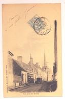 """Cachet Perlé Facteur Boitier """"TORCE Sarthe 1906"""" Blanc Frappe Superbe Luxe  Indice=4 Pour Coulans (Sarthe) - Bolli Manuali"""