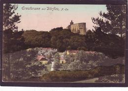 AK ERNSTBRUNN, Dörfles Kleinformat 1928, Enzersdorf Nursch Thomasl Dörfles Glaswein Maisbirbaum Burg Schloss - Autriche