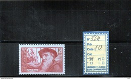FRANCE  LUXE** N°384 - Unused Stamps