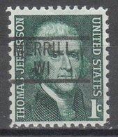 USA Precancel Vorausentwertung Preo, Locals Wisconsin, Merrill 839 - Vereinigte Staaten