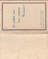 Alsace - Pochette De 12 Cartes De A. JAEGY Et Malgré Vous Nous Resterons Français - 25 Scans - War 1939-45