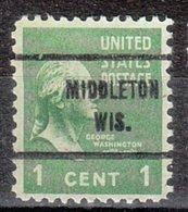USA Precancel Vorausentwertung Preo, Locals Wisconsin, Middleton 713 - Vereinigte Staaten