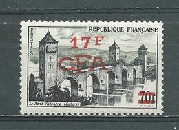 REUNION -  Yvert N° 339 **  PONT VALENTRE A CAHORS - Réunion (1852-1975)