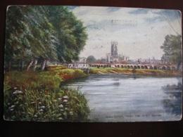 Gloucester From The River Severn , Gloucestershire - Artist Drawn - ( Tucks ) - Gloucester