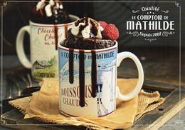 Recette : Mug Cake De Mathilde. Moëlleux Au Chocolat. Le Comptoir De Mathilde- TBE - Recipes (cooking)