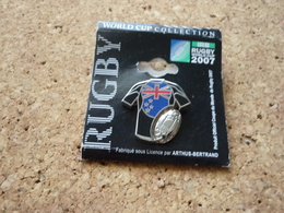 Pin's Rugby  World Cup 2007 Signe Arthus Bertrand Paris - Rugby