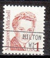 USA Precancel Vorausentwertung Preo, Locals Wisconsin, Milton 895 - Vereinigte Staaten