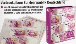 Deutschland 2018 Vordruck-Album 0-EURO-Souvenirscheine New 27€ Mit Abbildung Souvenir-Noten Banknoten In SAFE-Alben - Alben & Binder