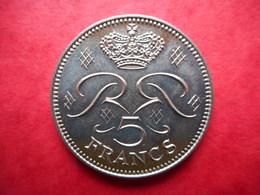 Monaco 5 Francs 1971 Rainier III - 1960-2001 Nouveaux Francs