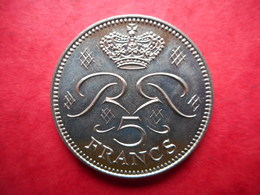 Monaco 5 Francs 1971 Rainier III - 1960-2001 New Francs