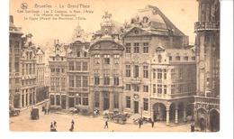 Bruxelles-Grand'Place-Les 3 Couleurs-Rose-Arbre D'Or-maison Des Brasseurs-Le Cygne-(Maison Des Bouchers)-attelage-Cheval - Places, Squares