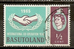 Basutoland 1965 ITU Obl - Basutoland (1933-1966)