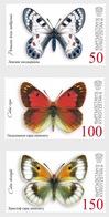 Kirgizië / Kyrgyzstan - Postfris / MNH - Complete Set Vlinders 2018 - Kirgizië
