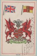 CPA:   WALES (Pays De Galles) (royaume-uni):   Cymru Am Byth.   (E1268.) - Pays De Galles